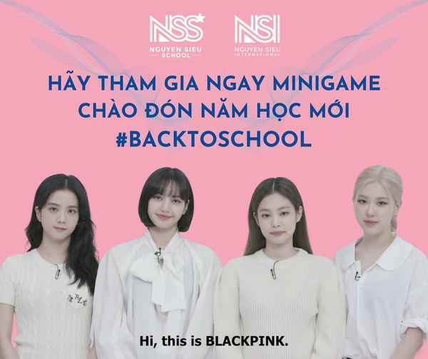 """Minigame """"Explosion in Learning With BLACKPINK"""""""