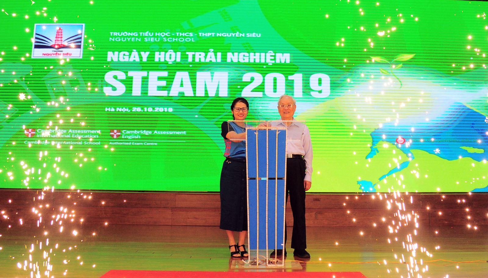 STEAM day at Nguyen Sieu