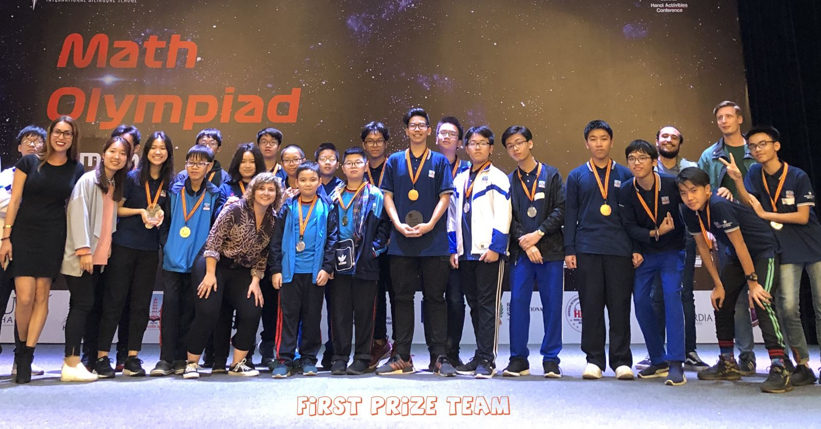 Nguyen Sieu emerges as Overall Champion at the 2019 Hanoi Math Olympiad