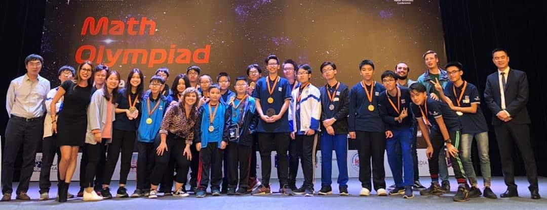Nguyen Sieu at the Math Olympiad