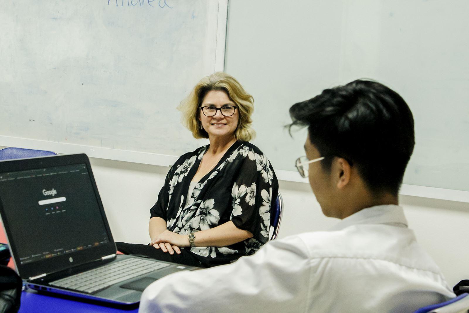 New Zealand universities workshop with Mrs Andrea Flavel