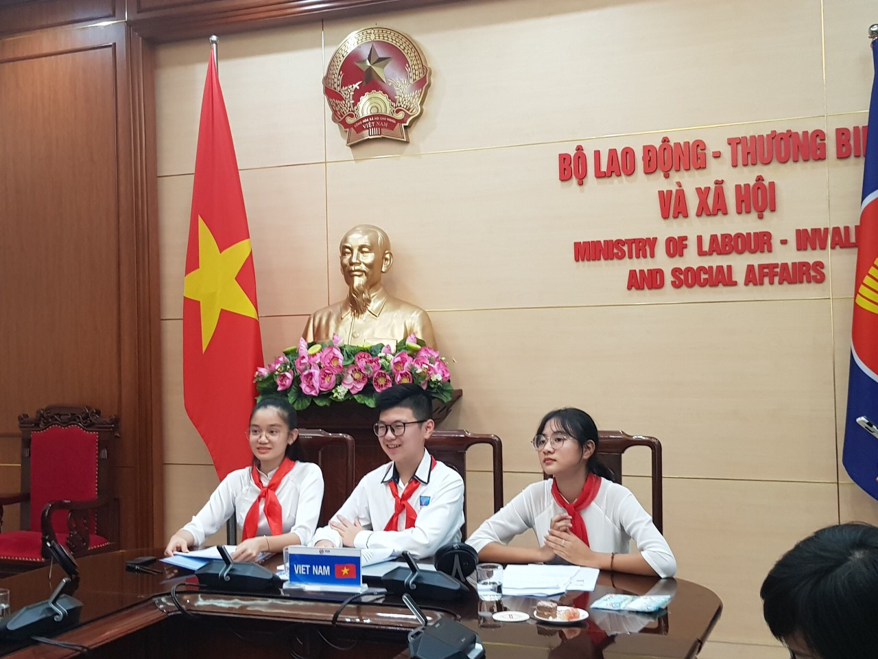Tô Anh Minh participates in ASEAN Children's Forum 2020