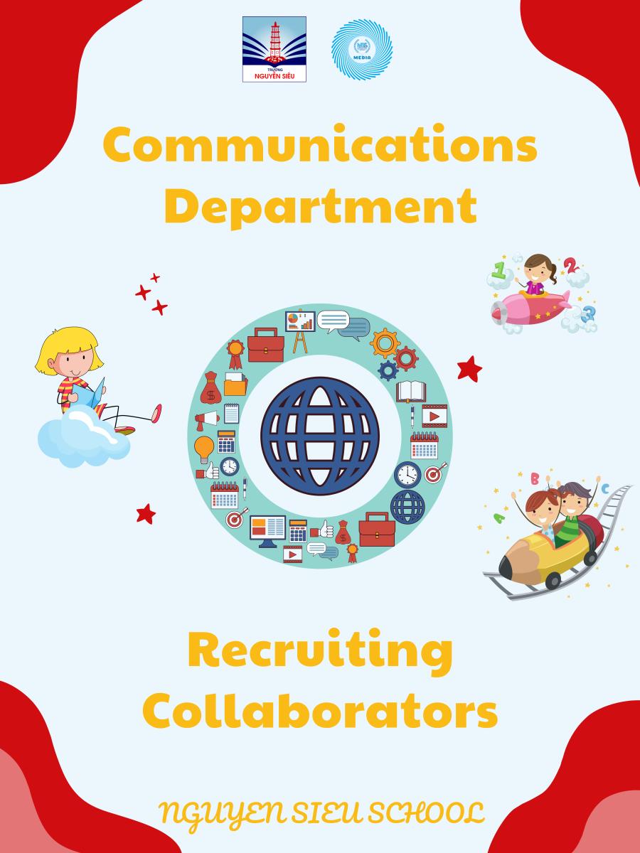 Nguyen Sieu School Media Club Recruits Collaborators for the School Year 21-22